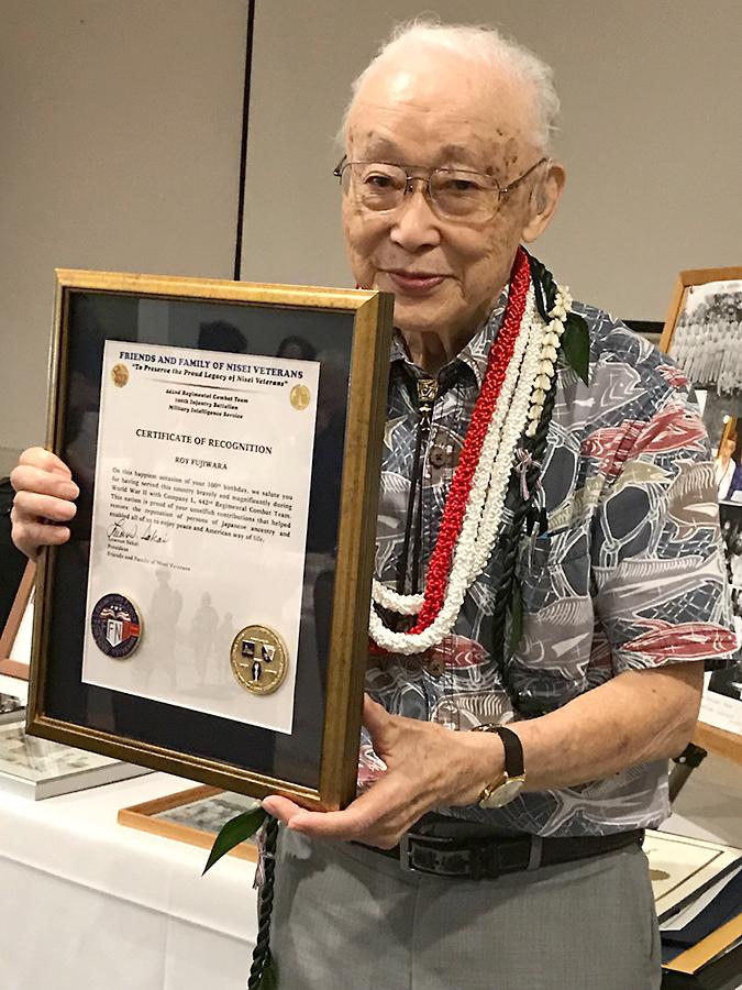 442nd Veteran Roy Fujiwara Turns 100